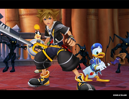 Why do these things cause Sora so much trouble in cutscenes?