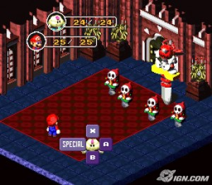 mario rpg battle